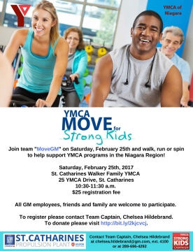 YMCA – Move for Strong Kids