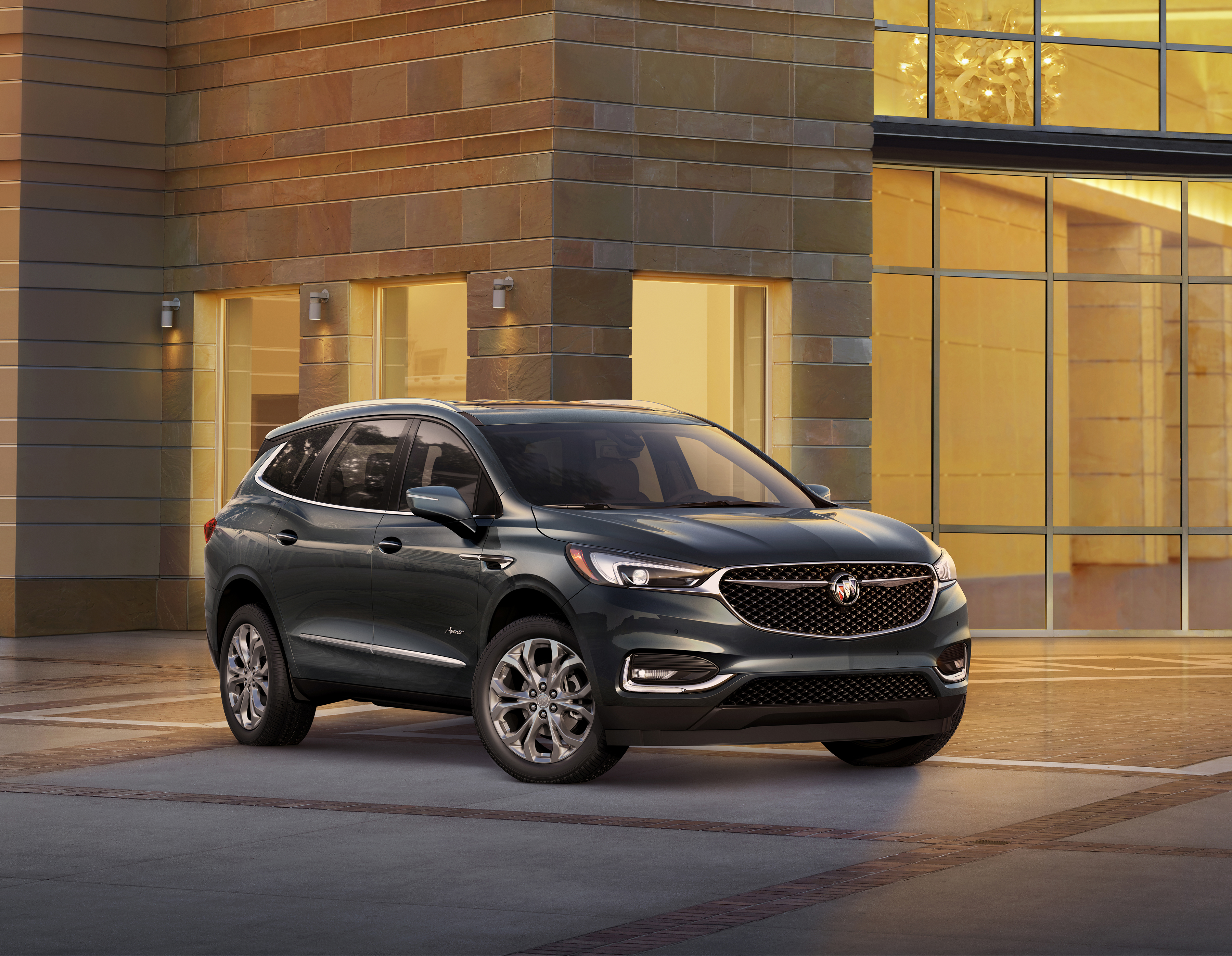 Buick Enclave Seating Capacity >> First Ever Enclave Avenir Offers Progressive Family Oriented Luxury