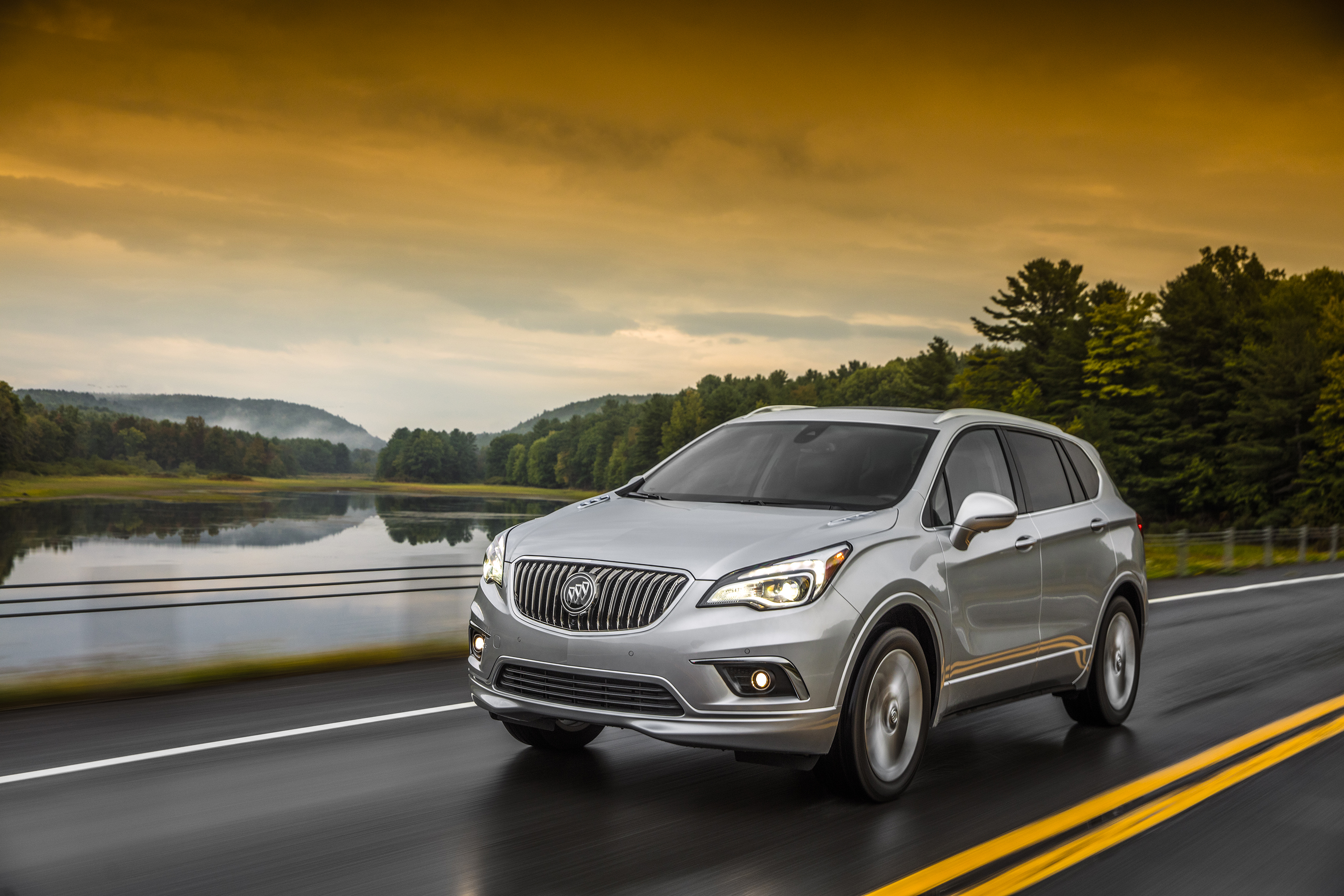 2017 Buick Envision Awd Earns 5 Star Overall Vehicle Score For Safety Rating By Nhtsa