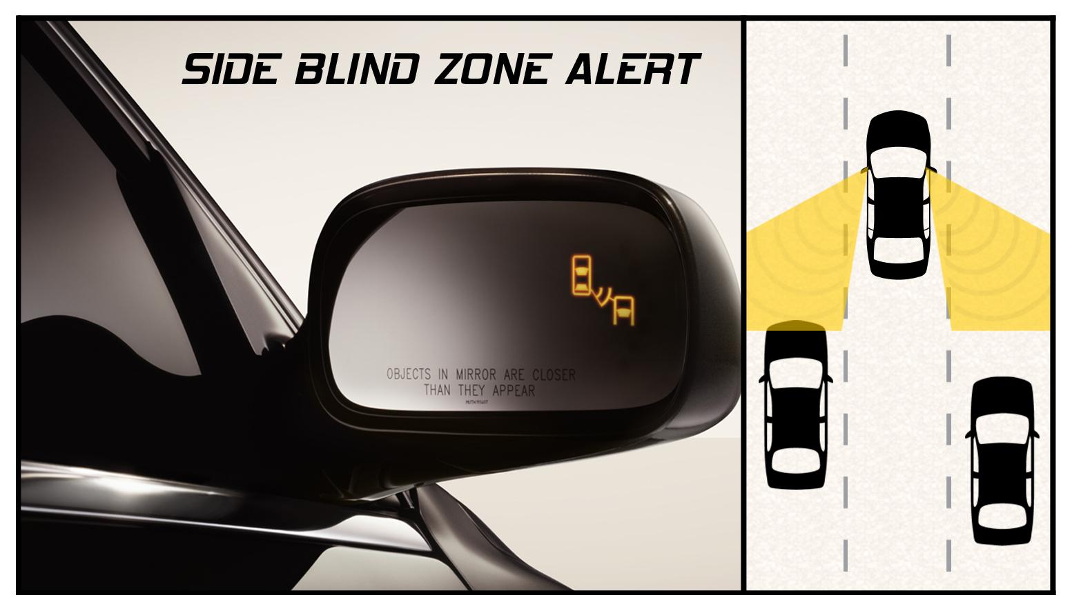 Buick LaCrosse: Side Blind Zone Alert System
