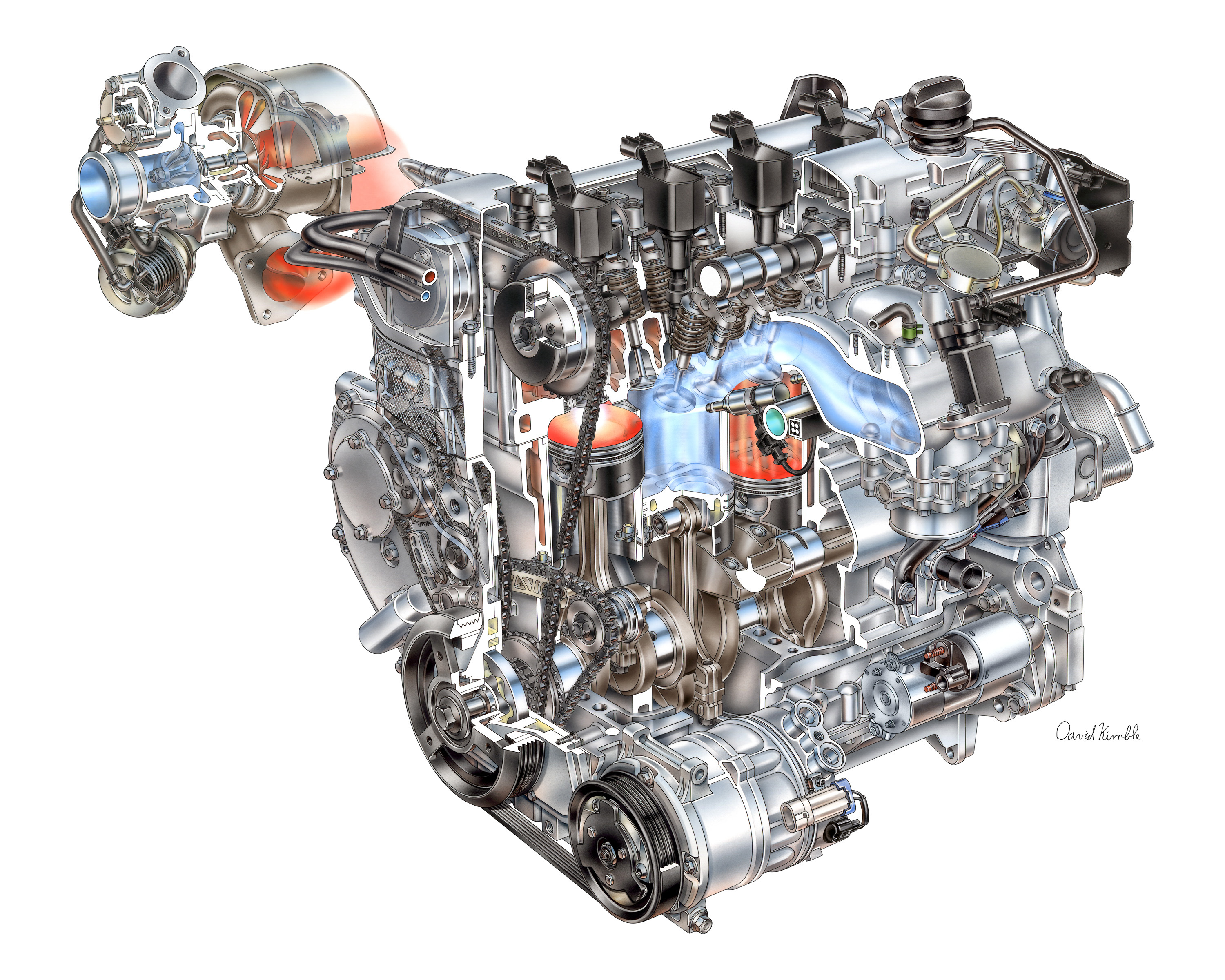 2011 Powertrain 4 Cylinder Ecotec 2.0L I4 VVT DI Turbo LHU 012 buick regal engine brainpower is industry's quickest 2013 GM 2.4 Ecotec Engine at n-0.co