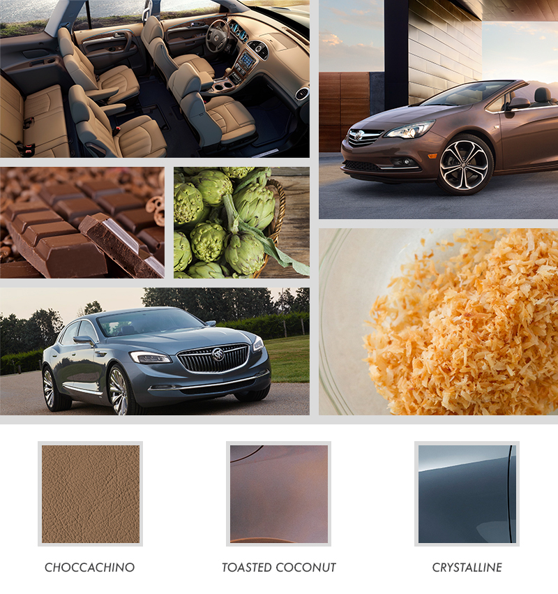 Palate To Palette How Designers Translate Culinary Inspirations Into Buicks