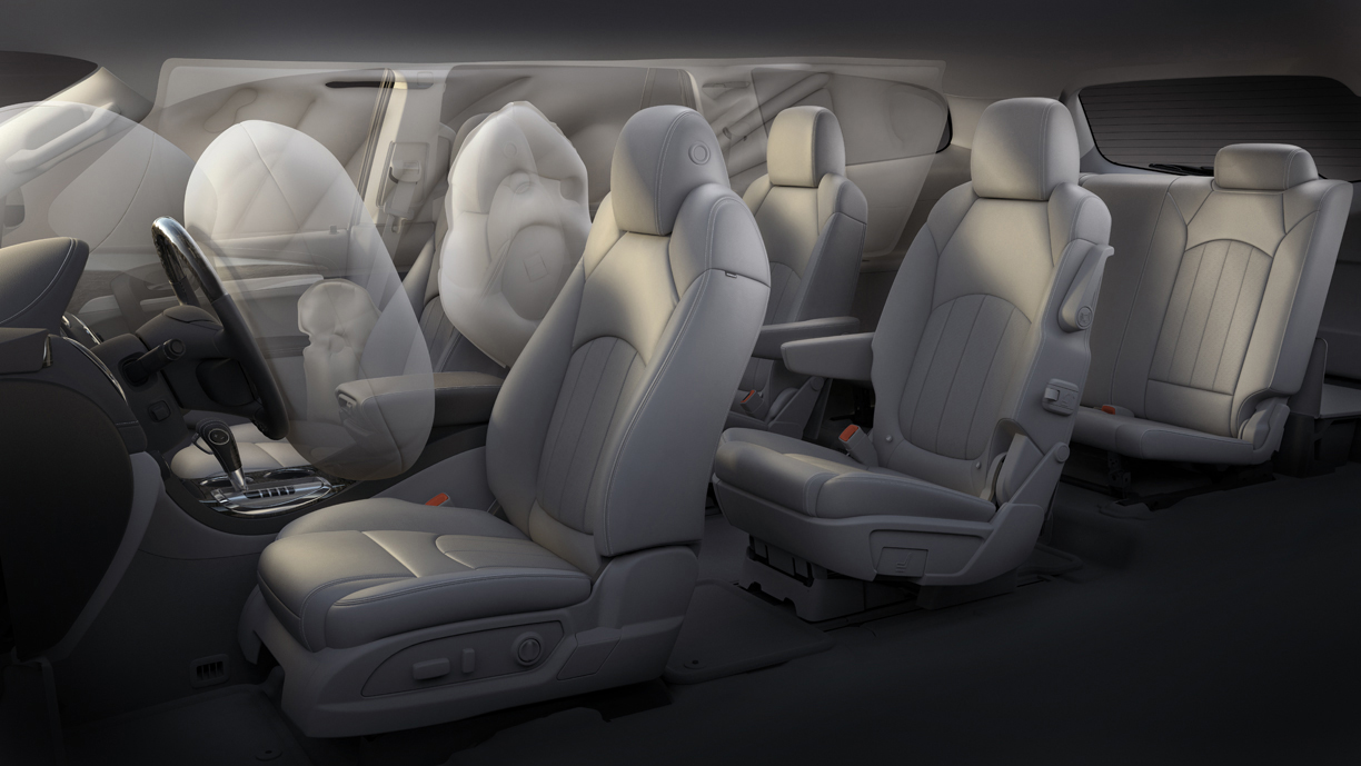 windows mirrors buick seats chairs miles locks memory row firstrateautos enclave quad seat drivers captains power seating