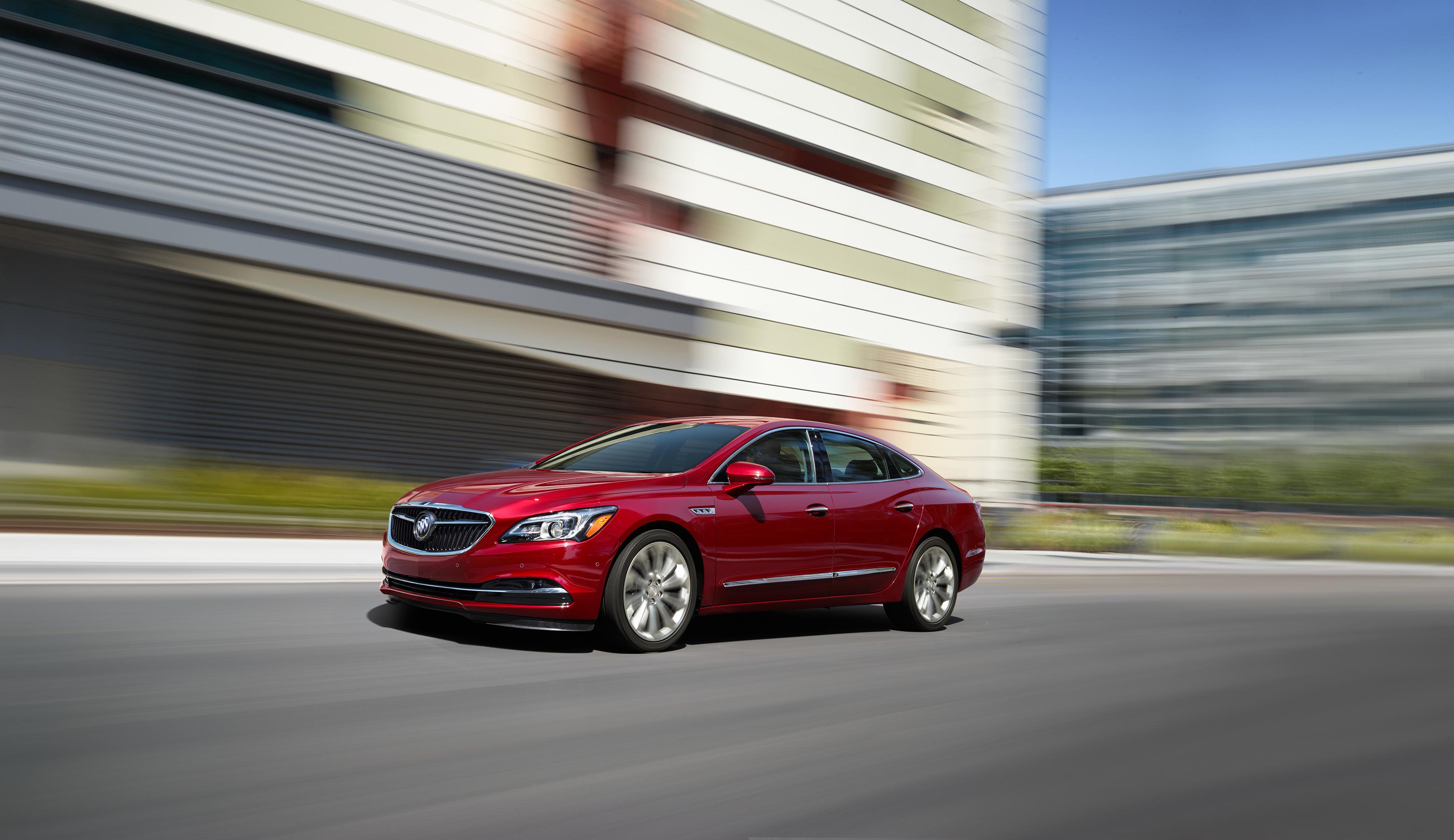 Light Electrification Leads 2018 Buick LaCrosse Updates